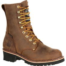 Georgia Boot Steel Toe Waterproof 400G Insulated Logger Work Boot