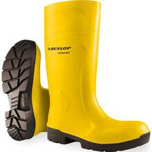 Dunlop® Purofort® FoodPro MultiGrip Steel Toe Static Dissipative Waterproof Slip-Resistant Rubber Boot