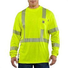 Camiseta Clase 3 Carhartt manga larga de alta visibilidad resistente a las llamas