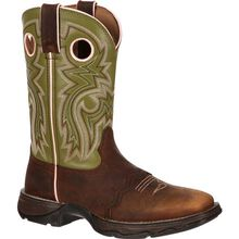 Bota vaquera para mujer Powder n' Lace Saddle Lady Rebel de Durango