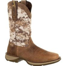 Rebel™ by Durango® Desert Camo Pull-on Western Boot