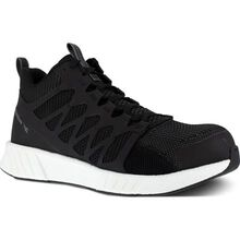 Reebok Fusion Flexweave Work Men's Composite Toe Electrical Hazard Mid-Cut Athletic Shoe