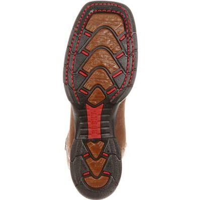 Bota sin cordones impermeable Rocky Long Range con punta de acero, , large