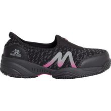 Moxie Trades Zena Women's CSA Aluminum Toe Electrical Hazard Puncture-Resistant Athletic Slip-on Shoe
