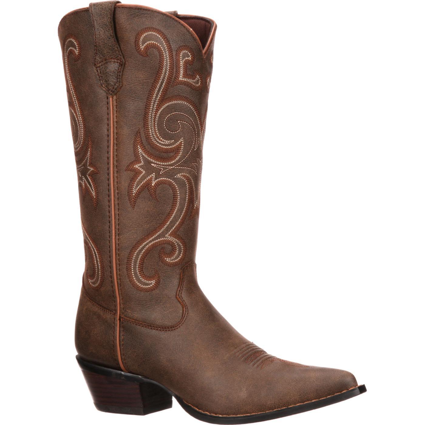 Modelo Jealousy de botas vaqueras de color marrón Crush by Durango para  damas ( RD3593) Modelo Jealousy de botas vaqueras de color marrón Crush by  Durango ... 7defb7a9ef5