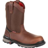 Rocky Rams Horn Waterproof Composite Toe Pull-On Work Boot, , medium