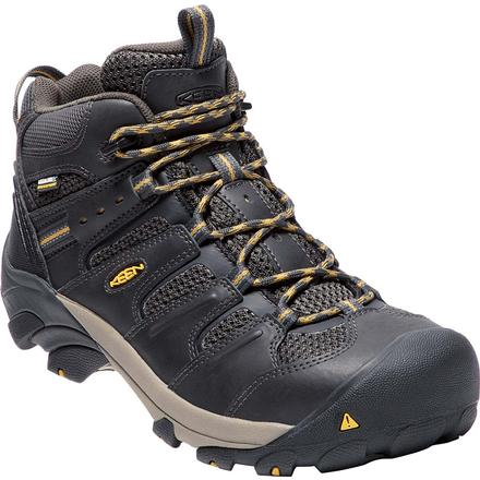 KEEN Utility® Lansing Mid Steel Toe Waterproof Work Shoe
