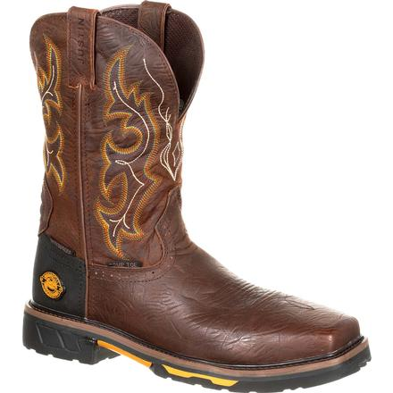 Justin Work Hybred® Joist Composite Toe Waterproof Western Work Boot