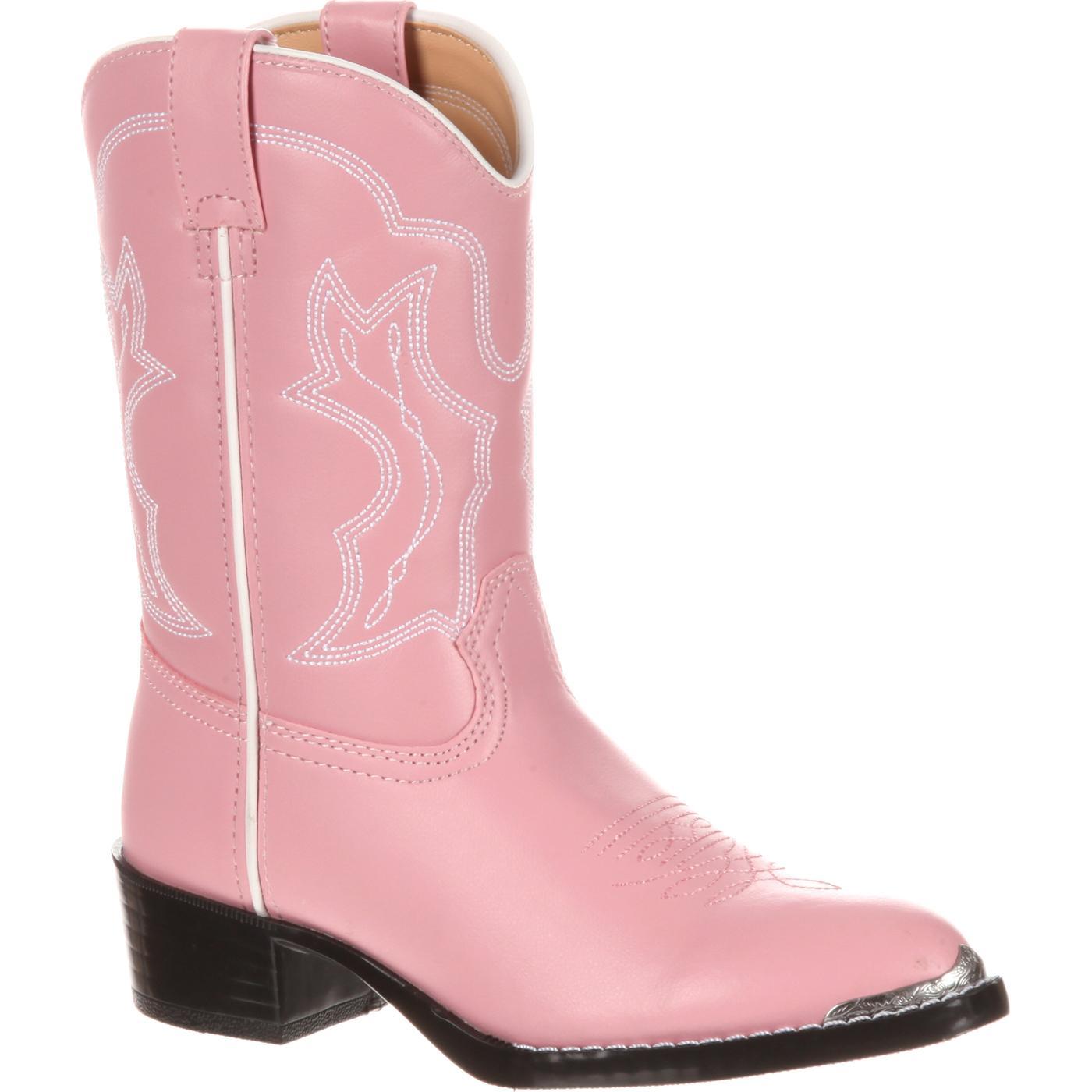 nuevo concepto 8d2a7 b9f4d Bota vaquera rosada para niñas Durango