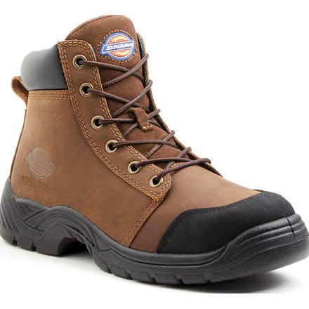 Dickies Wrecker Men's 6 inch Steel Toe Electrical Hazard Work Boot