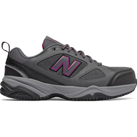 New Balance 627v2 Women's Steel Toe Slip Resistant Static Dissipative Leather Athletic Work Shoe