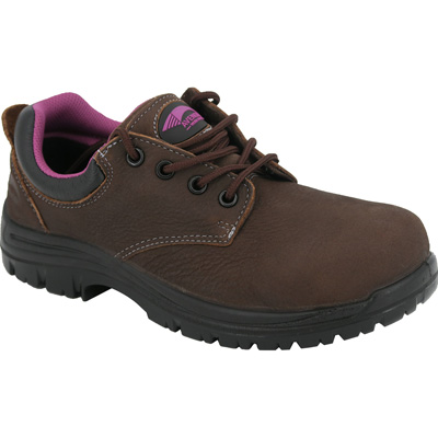 Avenger Women's Composite Toe Electrical Hazard Waterproof Non-Metallic Work Oxford