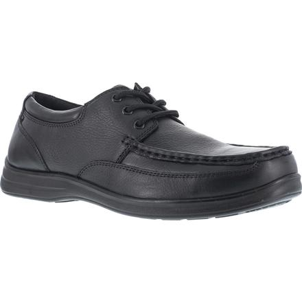 Florsheim Work Wily Steel Toe Static-Dissipative Moc Toe Work Oxford