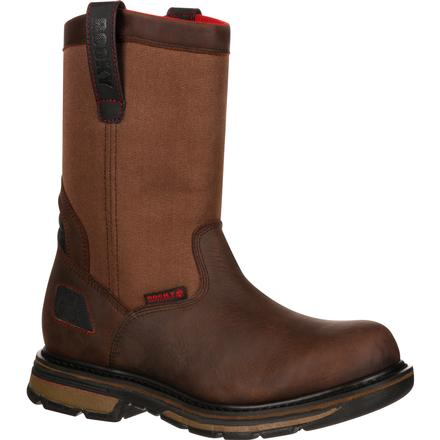 Rocky Hauler Composite Toe Waterproof Pull-On Work Boot