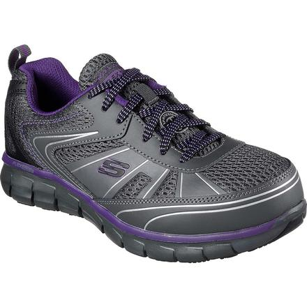 SKECHERS Work Synergy Algonac Women's Alloy Toe Work Athletic Shoe