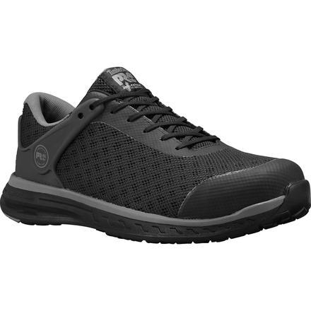 Timberland PRO Drivetrain Men's Composite Toe Electrical Hazard Black Athletic Work Shoe