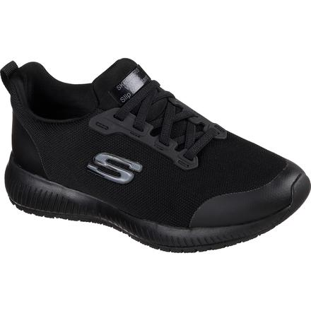 SKECHERS Work Squad Women's Slip Resistant Electrical Hazard Athletic Slip-On Work Shoe
