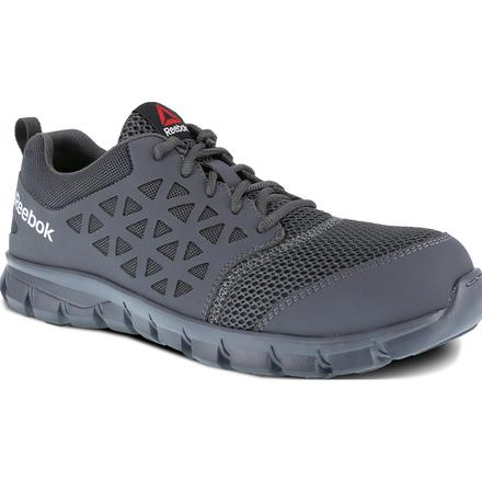Reebok Sublite Cushion Work Men's Composite Toe Electrical Hazard Athletic Work Shoe