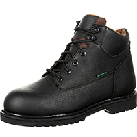 QUICKFIT Collection: Lehigh Safety Shoes Men's Leather Steel Toe Puncture Resistant Certified Electrical Hazard Work Boot, , medium