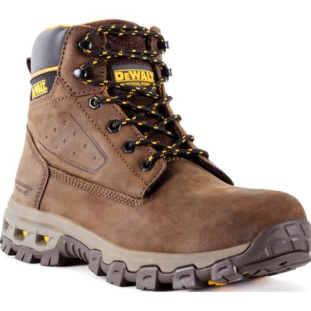 DEWALT® Halogen Men's Aluminum Toe Electrical Hazard Leather Work Hikers
