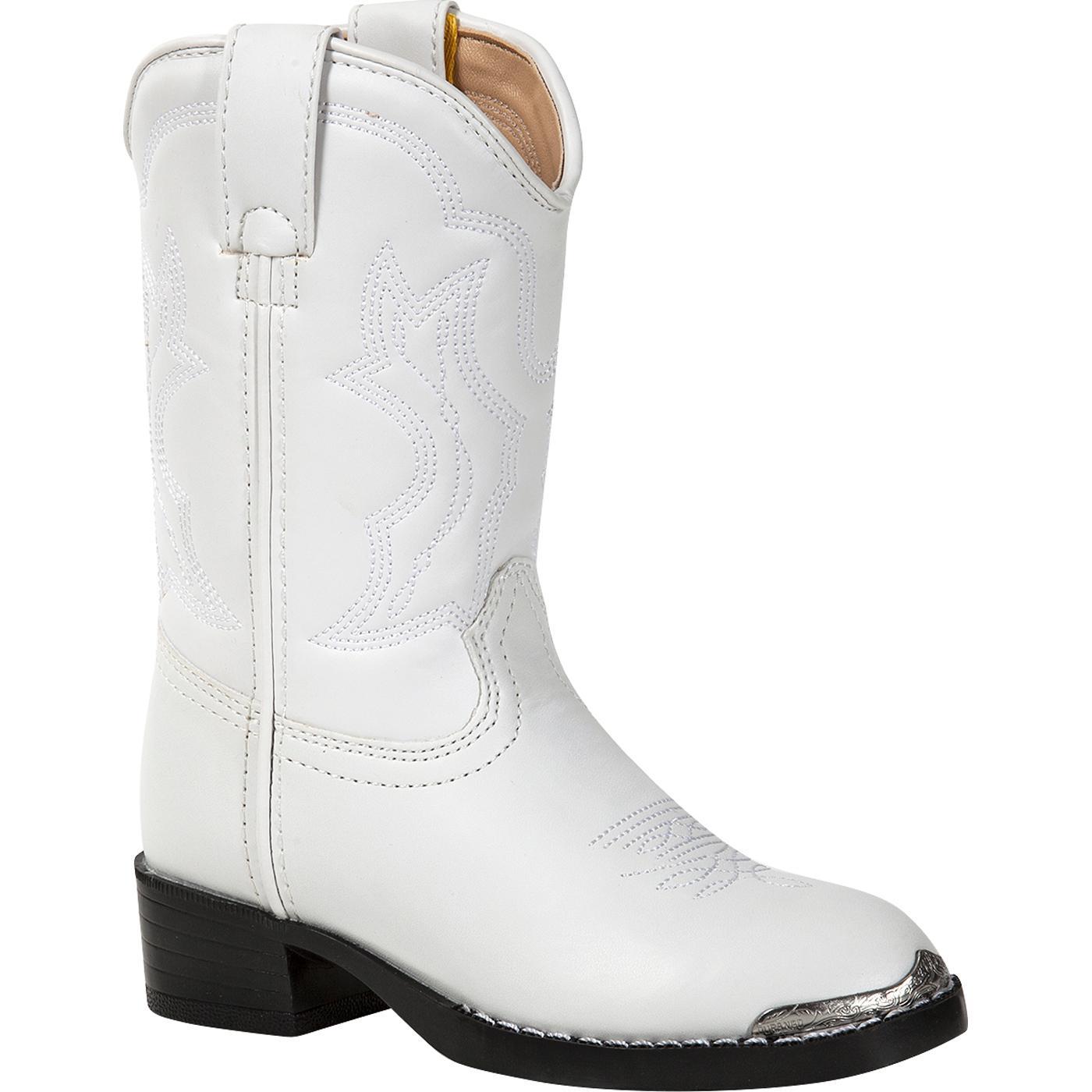 venta outlet orden claro y distintivo Botas vaqueras blancas para niños pequeños Durango