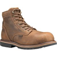 Timberland PRO Millworks Men's 6 inch Composite Toe Electrical Hazard Waterproof Leather Work Boot, , medium