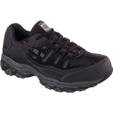 SKECHERS Work Relaxed Fit Cankton Steel Toe Work Athletic Shoe