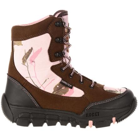 new collection 100% authentic performance sportswear Rocky Women's Pink Camo GORE-TEX Waterproof Insulated Boot