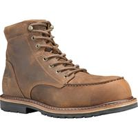 Timberland PRO Millworks Moc Toe Men's 6 inch Composite Toe Electrical Hazard Leather Work Boot, , medium
