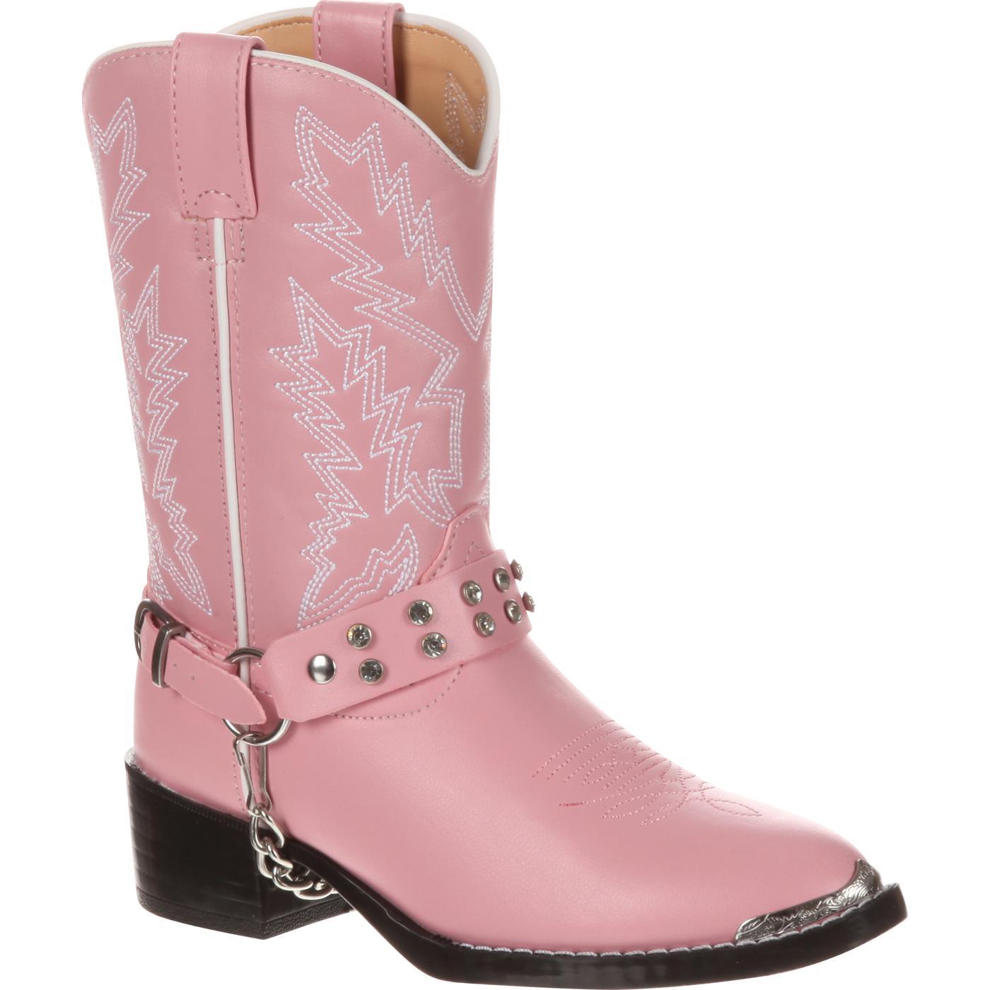 aafed44fff Botas vaqueras Durango para niños rosadas con imitación de diamantes  Durango Little Kid. Style  BT668.  59.99. Bota vaquera Justin Gypsy juvenil  sin ...