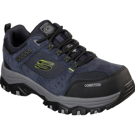 SKECHERS Work Greetah Men's Composite Toe Electrical Hazard Waterproof Athletic Work Shoe