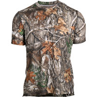 Rocky Venator Short-Sleeve Performance Tee Shirt, Realtree Edge, medium