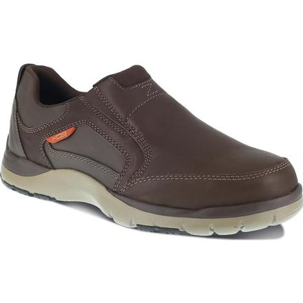Rockport Works Kingstin Work Steel Toe Static-Dissipative Work Slip-On Oxford