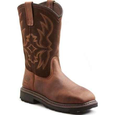 Dickies Stockyard Men's 12 inch Steel Toe Electrical Hazard Western Work Boot