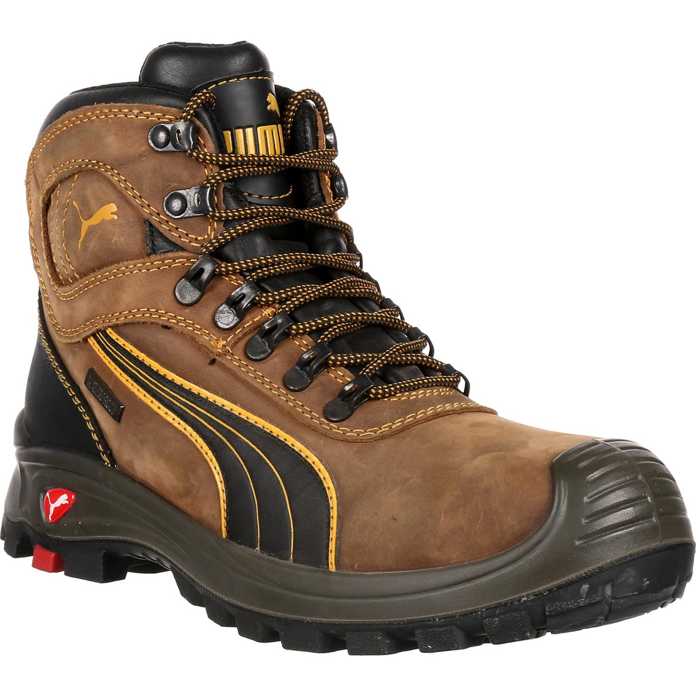 Calzado de alta trabajo de zapatilla de senderismo alta de impermeable de 5c5493