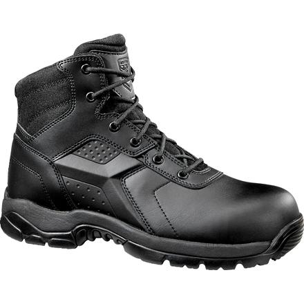 Battle Ops Men's 6 inch Composite Toe Electrical Hazard Waterproof Zipper Tactical Boot