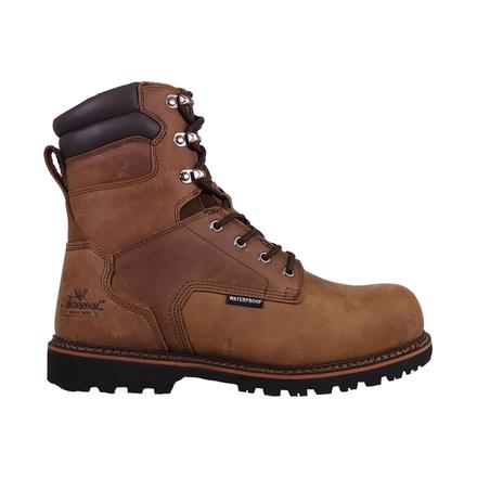 Thorogood V-Series Men's 8-inch Composite Toe Electrical Hazard 400G Insulated Waterproof Work Boots