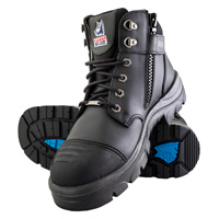 Steel Blue Parkes Zip Steel Toe Side Zip Work Boot, , medium